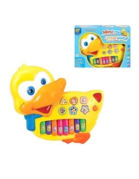 Piano a Pila en foma de Pato Musical. Magnetic Toys.