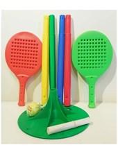 Tenis orbital. Incluye: 2 paletas, pelota tenis y palo listo para jugar. Serabot