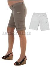 Bermuda futura mama con bolsillo al costado. Que Sera?