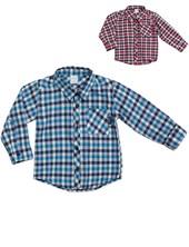 Camisa Bebe Manga Larga Escocesa Pilim