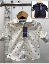 Camisa manga larga para bebe. Estampa bici. Popeye