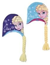 Gorro tejido con trenza aplicada Frozen