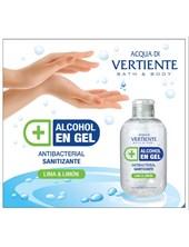 Alcohol en gel x 200ml fragancia lima & limon