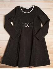 Vestido Nena Lurex y Hebilla Varsity