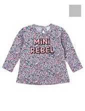 "Remera  Beba Animal print ""mini rebel"". Gepetto"