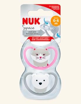Chupete space oso polar/Gato. Nuk