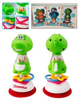 ANIMALITOS C/VENTOSA. Dinosaurio,mono y elefante. E-LEARNING