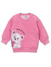 Buzo friza estampado oso beba. Colores surtidos. Narocca