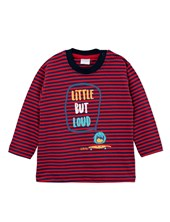 REMERA M/L BB VARON RAYADA LITTLE BUT LOUD. GEPETTO