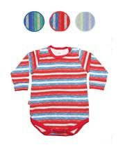 Body manga larga estampado para Bebes. Gamise