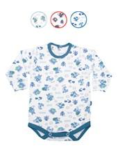 Body Manga Larga estampado para Bebes. Gamise.