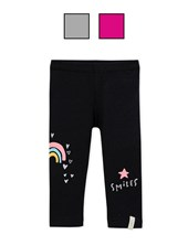 "Leggin con estampa ""smiles"".  Colores surtidos. Gepetto"