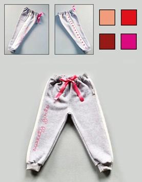 Pantalon frisa bebe con mono. Colores surtidos. Gruny