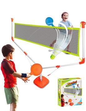 Juego de Tennis/Badminton con red,pluma,pelotita y 2 raquetas. E-Learning