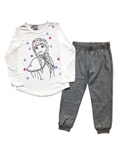 Pijama en conjunto Frozen Interlock estampado. Disney