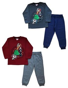 Pijama Avengers Conjunto jersey estampado. Colores surtidos. Disney