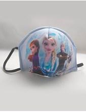 Tapa bocas barbijo infantil Frozen