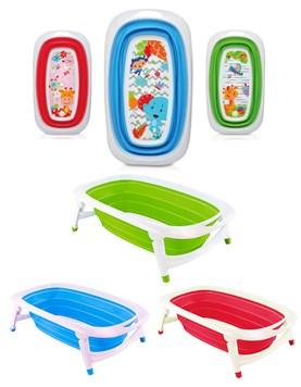 Bañera plegable reclinable. Diseño compacto . 0 a 36m. Colores surtidos. Priori.
