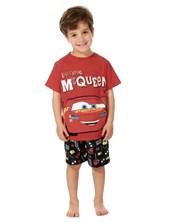 Pijama en conjunto Cars. Brilla en la oscuridad. Disney.