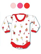 Body M/L Estampado bebes. Gamise.