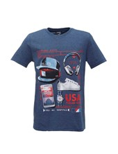 "REMERA BOYS JERSEY M/C ""USA"". POSTO 5"