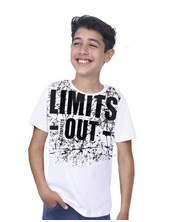 REMERA M/C LIMITS OUT NIÑO. COMPACTO