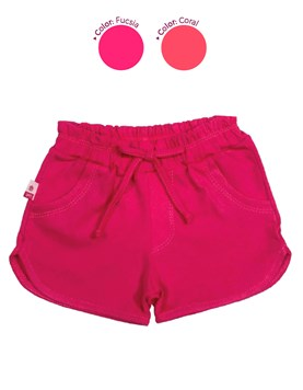 SHORT BEBA. COLORES SURTIDOS. FACHERITOS