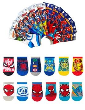 Soquete juvenil Marvel Avengers Spiderman. Elemento