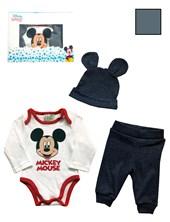 CAJA: Set body + Pantalón + Gorro de mickey. Colores surtidos. Disney