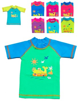 Remera bebe UV FPS 50. Colores surtidos. Petenone.