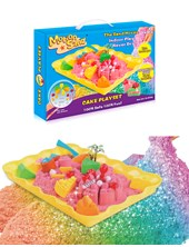MOTION SAND CAKE PLAYSET 3X300GR. ISAKITO