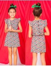 Vestido niña floreado. Popeye Kids