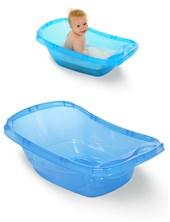 Bañera plástica azul traslucido. Ok Baby