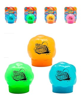 Slimy super mega bubble 350gr. Colores surtidos. Isakito