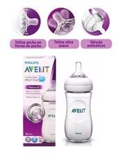 Mamadera  Natural 330 ml. Tetina Sistema Anticolicos. Avent