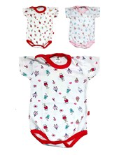 Body M/C. Linea Estampado beba. Colores surtidos. Gamise.