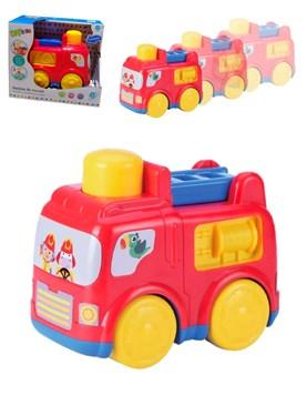 Auto De Rescate Bombero Camion Press And Go. Ok Baby
