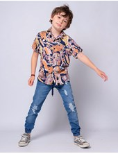 Jogger de jean niño. Popeye Kids