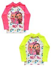 Remera M/L Playa Cry Babies Frente sublimado. FPS 50+. Colores surtidos. Disney
