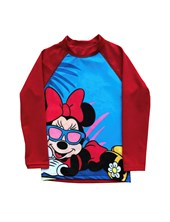REMERA M/L MINNIE UV50+. DISNEY
