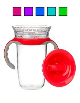 Vaso smart edge 360. Colores surtidos. Nuby