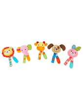 "PORTACHUPETE 8"" 5 ANIMALES. COLORES SURTIDOS. WOODY TOYS."