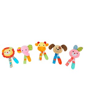 """PORTACHUPETE 8"""" 5 ANIMALES. COLORES SURTIDOS. WOODY TOYS."""