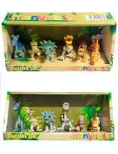 Set dinosaurios en caja. Feydi
