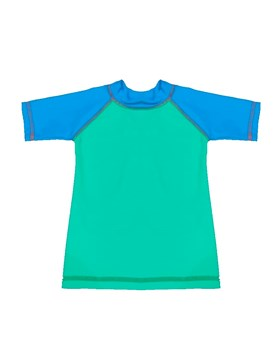 Remera UV manga corta de bebe. Petenone