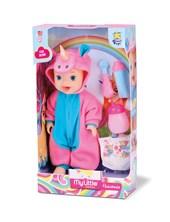 Unicornio en pañales con accesorios. Ok Baby