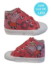 Zapatillas de bebe con luces led Peppa Pig. Disney