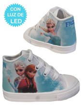 Zapatillas de bebé con luces led Frozen. Disney