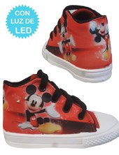 Zapatillas de bebé con luces led Mickey. Disney