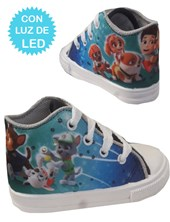 Zapatillas de bebé con luces led Paw patrol. Disney